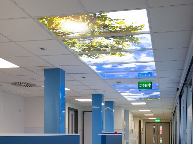 LED Sky Ceilings | Artificial Sky Light