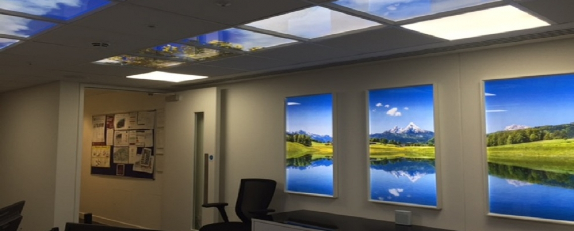 LED Sky Ceilings | BPS PARIBAS Building | Google | New Project
